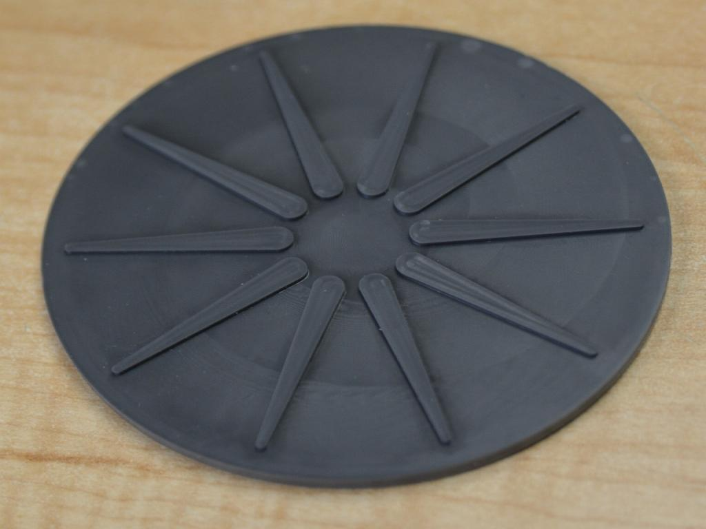 Silicone star coaster